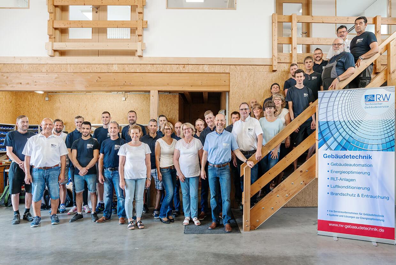 RW Gebäudetechnik Team